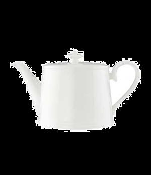 Teapot #5, 13 oz., with lid, premium bone porcelain, Stella Hotel