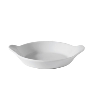 "Dish, 23 oz. (680ml), 8-1/4"" (21 cm), round, eared, Oven to Tableware"