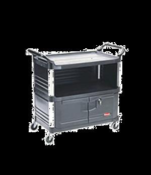 "Xtra™ Equipment Cart, three shelves, 20""W x 40-5/8""D x 37-13/16""H, 300 lb. total"