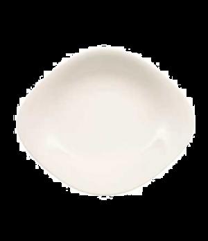 "Plate, 10-1/4"" x 8-1/4"", oval, premium porcelain, Dune"