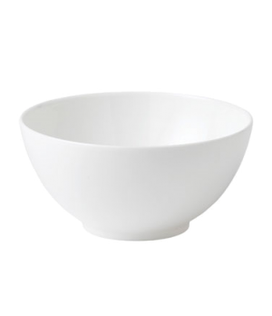 "Jasper Conran Gift Bowl 5-1/2"", round, dishwasher safe, bone china, white"