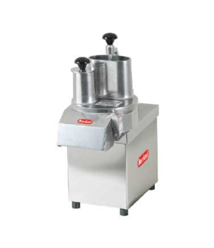 Vegetable Cutter, continuous gravity feed, 1-speed, 800-950 lbs/hr slicing & 140