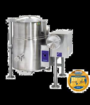 Kettle, Gas, Tilting, 25-gallon capacity, 2/3 steam jacket design, floor mounted