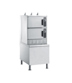 Convection Steamer, Electric, PowerSteam™ Series with Superheated Steam, 2 compa