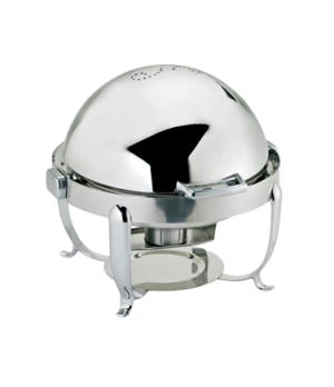 Octave Chafer, 7 qt., round, includes: food pan, water pan, (1) fuel holder, ful