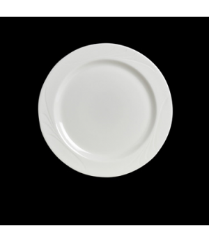 "Plate, 9"" dia., round, rolled edge, Anfora, Capri (USA stock item) (minimum = ca"