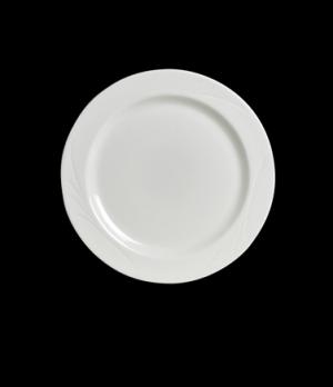 """Plate, 10-1/4"""", rolled edge, Anfora, Capri (USA stock item) (minimum = case quan"""