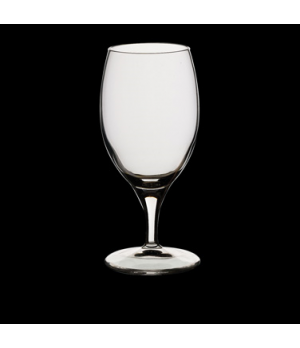 Beer Glass, 12-1/2 oz., pulled stem, Bormioli, Fiore (USA stock item) (minimum =