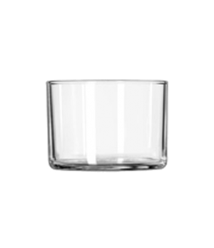 "Bowl/Tumbler/Mini-Dessert , 5-1/4 oz., glass (H 2-7/8; T 2-7/8""; B 2-1/4""; D 2-1"