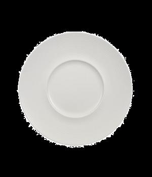 "Plate, 11-3/8"" x 5-3/4"" well, premium porcelain, Marchesi-Perimeter"