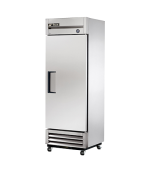 Freezer, Reach-in, 0° F, one-section, stainless steel door, stainless steel fron