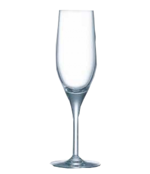 Champagne Flute Glass, 6-1/4 oz., glass, Kwarx®, Effervescence Plus, Chef & Somm