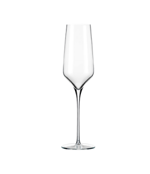Champagne Glass, flute, 8-1/2 oz. capacity, high definition & high durability ri