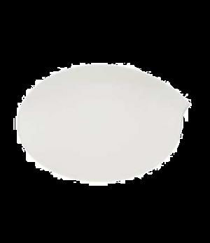 """Platter, 14-1/8"""" x 9-1/2"""", oval, premium porcelain, Flow"""
