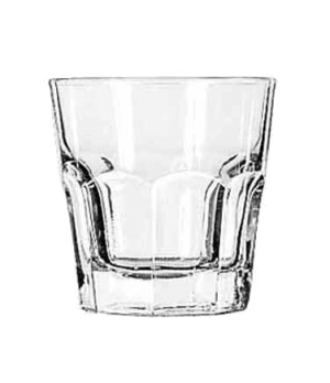 "Rocks Glass, 7 oz., DuraTuff®, GIBRALTAR®, (H 3-1/4""; T 3-1/8""; B 2-1/4""; D 3-1/"
