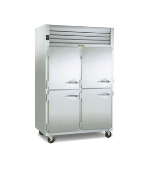 Dealer's Choice Hot Food Holding Cabinet, reach-in, two-section, microprocessor