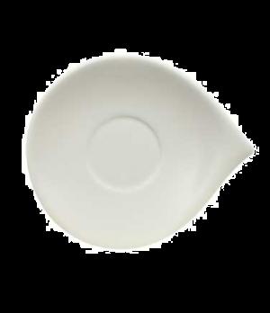 """Saucer, 5-1/2"""" x 4-3/4"""", (cup OCR 1420), premium porcelain, Flow"""