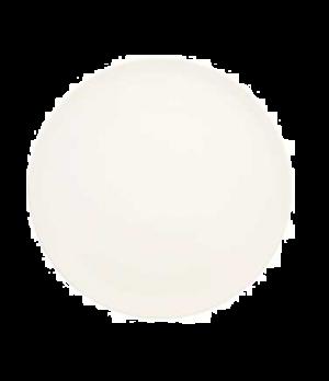 "Plate, 12-5/8"", flat, premium porcelain, Dune"