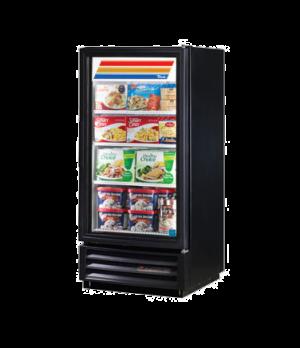 Freezer Merchandiser, one-section, -10° F, (3) shelves, black vinyl exterior, wh