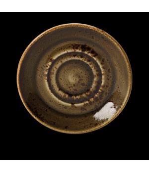 """Saucer, 5-3/4"""" dia., round, double well, freezer/microwave/dishwasher safe, life"""