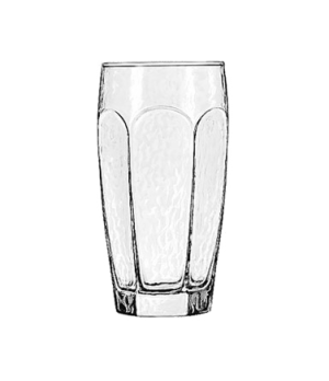 "Cooler Glass, 16 oz., CHIVALRY®, (H 6-1/8""; T 3""; B 2-3/8""; D 3-1/4"")"