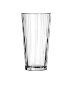"Casual Cooler Glass, 20 oz., line design, DuraTuff® (H 6-3/4""; T 3-5/8""; B 2-1/2"