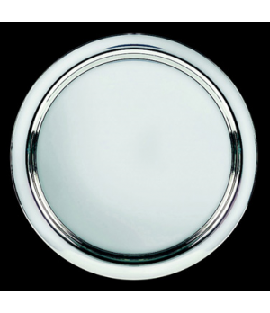 "Tray, 11-5/8"" dia., round, stainless steel, La Tavola, Café and Club Hollowware"