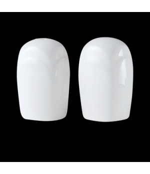Salt Shaker, Distinction, Bianco, Noir (UK stock item) (minimum = case quantity)