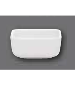 """Baking Dish, 2-3/4"""" x 2-3/4"""", square, oven, microwave and dishwasher safe, porce"""