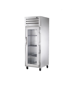 SPEC SERIES® Refrigerator, Reach-in, one-section, stainless steel front & sides,
