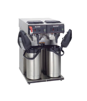 23400.0041 CWTF TWIN-APS Airpot Coffee Brewer, automatic, brews 15 gallons per h