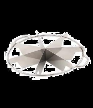 Pie Cutter, 6 cut, stainless steel