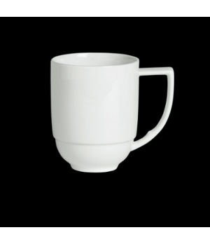 "Mug, 10-1/4 oz., 4-3/8""W x 3-7/8""H, porcelain, Duo, Rene Ozorio (USA stock item)"
