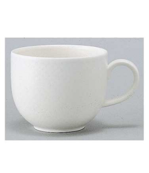 Cup #8, 3-1/2 oz., premium porcelain, Easy White