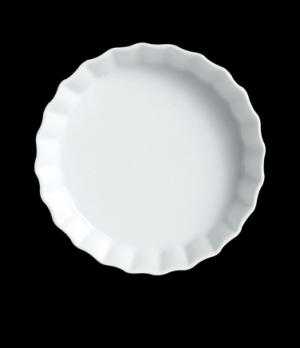 """Crème Brulee, 4 oz., 4-3/4"""" dia., round, Varick, Café Porcelain (USA stock item)"""