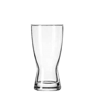 "Pilsner Glass, 10 oz., Safedge® Rim guarantee, Hourglass Design, (H 5-3/4""; T 2-"