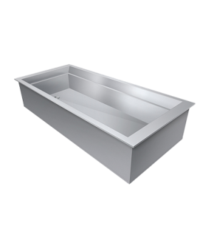"Drop-In Cold Food Unit, iced cold pan, 19""L x 27""D, (1) pan size (pan not includ"