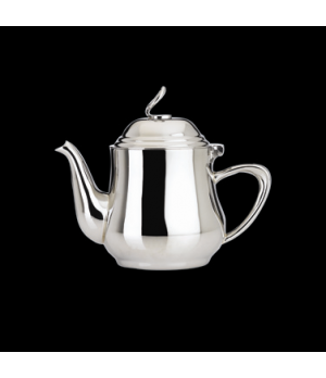 Teapot, 13 oz., with lid, 18/10 stainless steel, WNK, Eminence (USA stock item)
