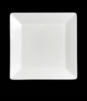 "Plate, 10-5/8"", square, rim deep, porcelain, Rene Ozorio Virtuoso (USA stock ite"