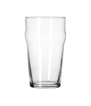 "English Pub Glass, 20 oz., Safedge® Rim guarantee, heat treated, (H 6""; T 3-3/8"""