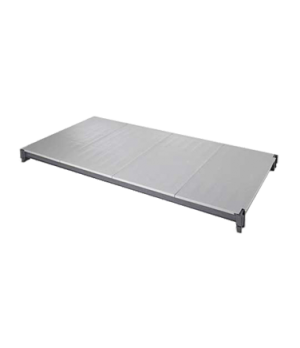"""Camshelving® Elements Shelf Plate Kit, 18""""W x 72""""L, solid, with Camguard® antimi"""