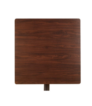 """Indoor Table Top, 24"""" x 30"""", rectangular, slim, contemporary flair, with rails f"""