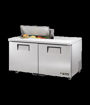 """ADA Compliant Sandwich/Salad Unit, (8) 1/6 size (4""""D) poly pans, stainless steel"""