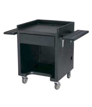 """Equipment Stand Only, 28""""W x 28""""D x (with casters) 39""""H, black, NSF"""