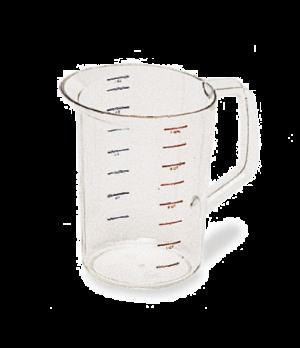 Bouncer® Measuring Cup, 4 qt., -40°F/-40°C to 212° F/100°C temp. range, measurem