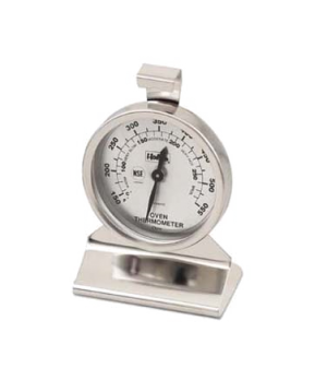 "Oven Thermometer, 2-3/8"" dial, 3-3/4""H, temperature range 150° to 550° F (-70Â"