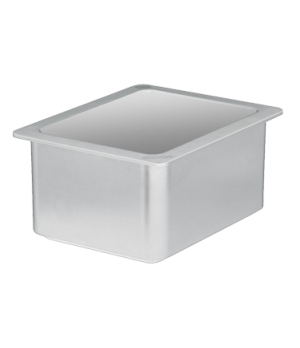 "ColdFest® Food Pan, 1/2 size, 6"" deep, ABS plastic shell with FDA listed non-tox"