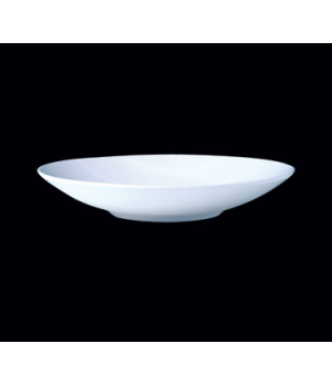 "Bowl, 34-1/2 oz., 10"" dia. x 1-7/8""H, round, Distinction, Contour, Monaco White"