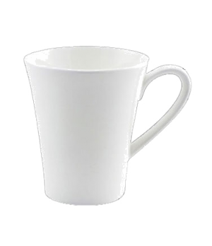 (0155) Fusion Mug, 9-1/4 oz. (28.0 cl), bone china, microwave safe, white