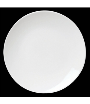 "Plate, 9"" dia., round, coupe, porcelain, Tria, Simple Plus (minimum = case quant"
